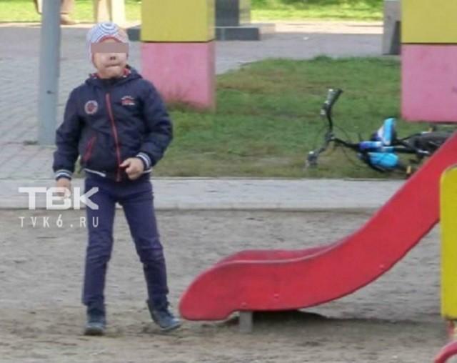 Спартанское воспитание: физрук ударил мальчика (3 фото)