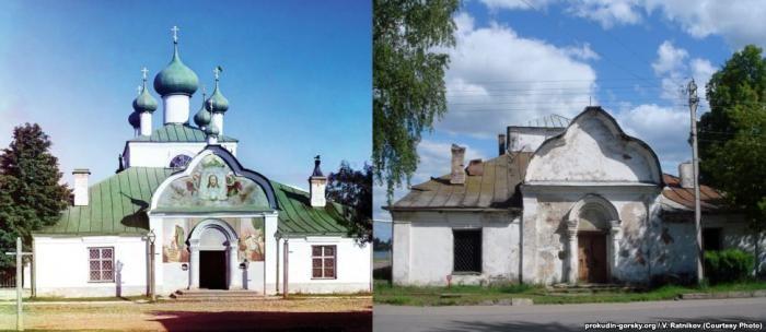 Россия 100 лет назад и сейчас (29 фото)