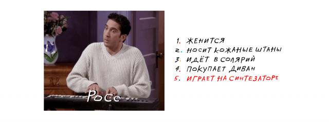 Яндекс посчитал поисковые запросы и определил эпизоды Друзей (9 фото)