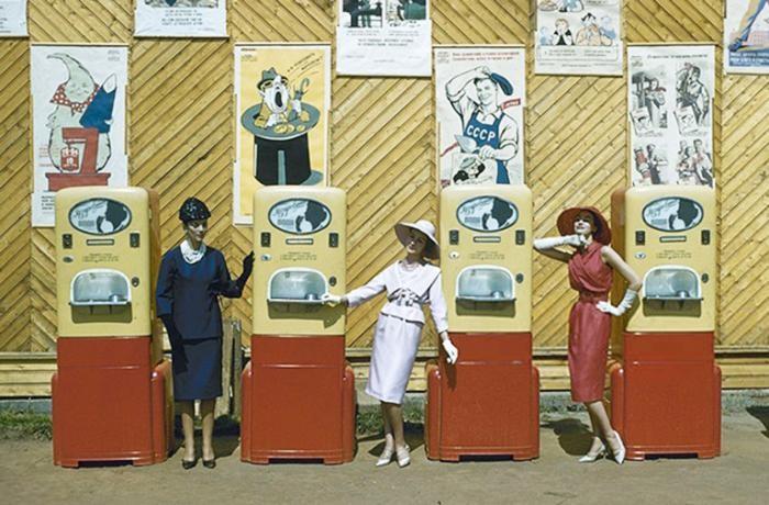 История вендингового автомата (4 фото)