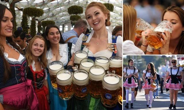 Фестиваль пива «Октоберфест-2019» стартовал в Мюнхене (23 фото)