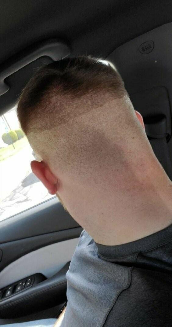 Работы не самых лучших парикмахеров (16 фото)
