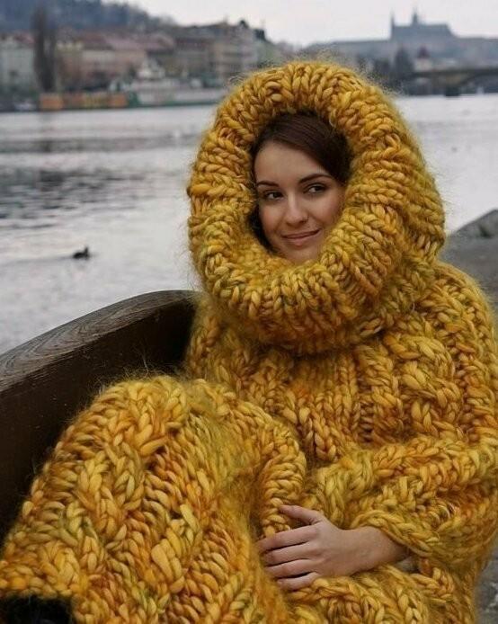Зима близко: свитеры, которые точно помогут согреться (17 фото)