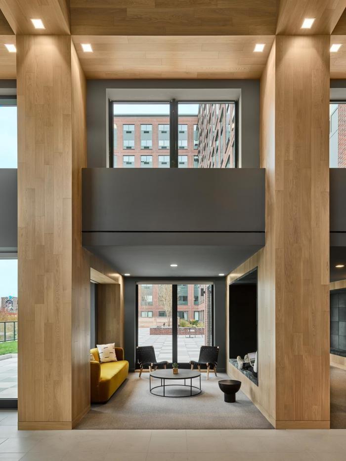 Необычный проект многоквартирного жилого здания (13 фото)