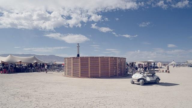 Финны могут построить сауну даже в пустыне (5 фото)