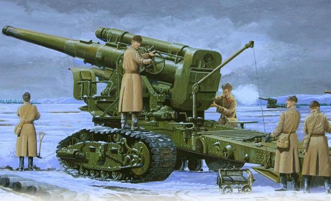 Сталинская Кувалда – гаубица,которая наводила страх на немцев (3 фото)