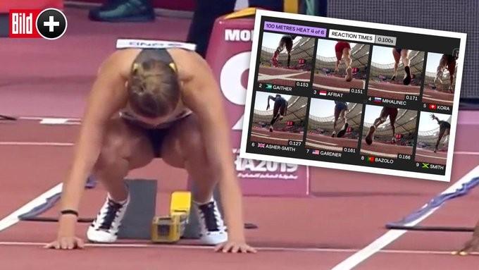 Легкоатлетки возмутились ракурсами на чемпионате мира (2 фото)