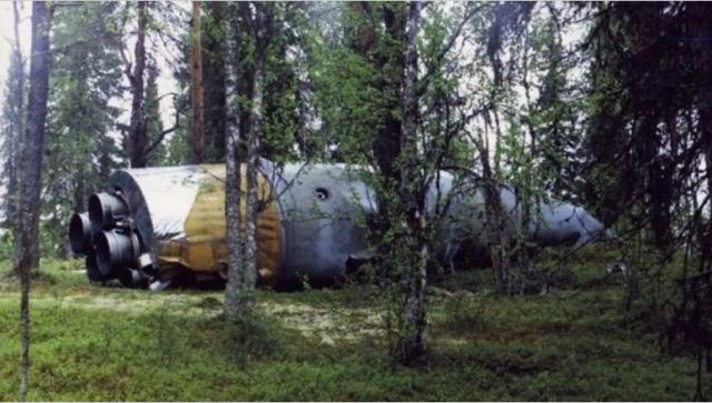 Космический мусор обнаружили в лесах Коми (4 фото)