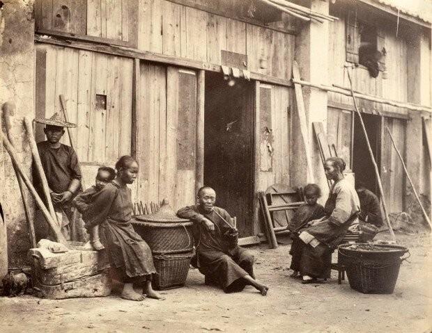 Таким был Гонконг 150 лет назад (12 фото)