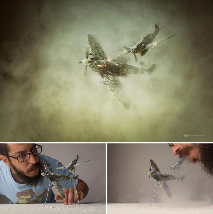 Фотограф сначала создает миры, а потом снимает их (40 фото)