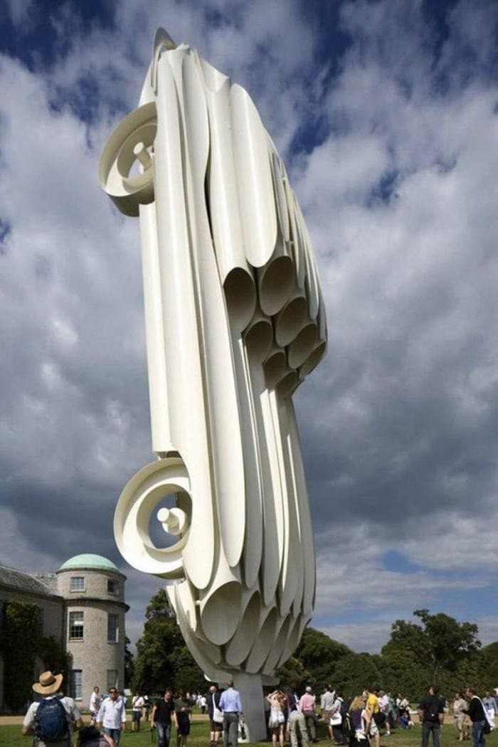 Скульптуры, которые бросают вызов гравитации (20 фото)
