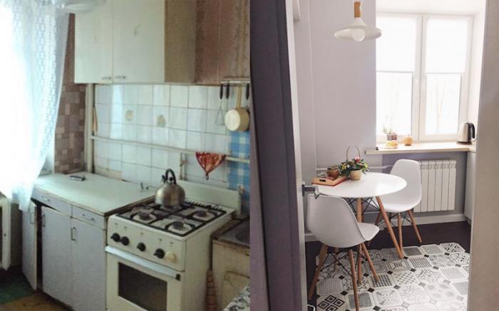 Фотографии старых квартир до и после небольшого ремонта (14 фото)