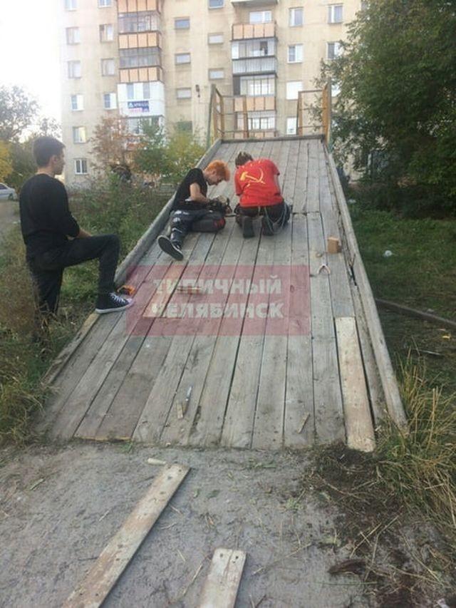 Неожиданная помощь от антисоциальных личностей (8 фото)