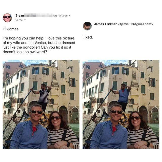 Фотошоп-мастер, который слишком буквально выполняет просьбы (15 фото)