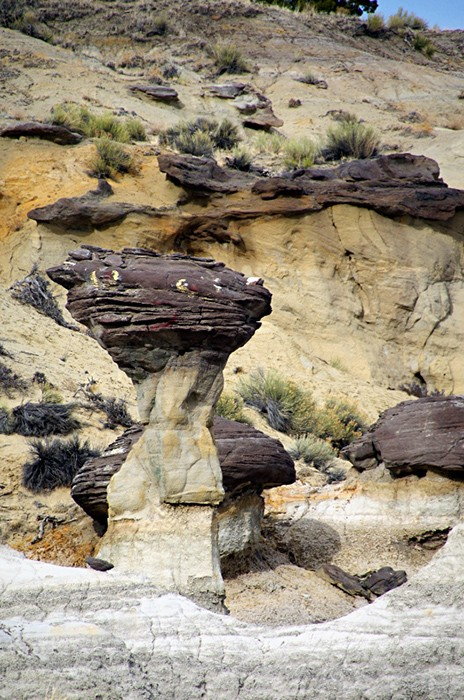 Удивительный заповедник А-Ши-Сле-Па с марсианским пейзажем (14 фото)