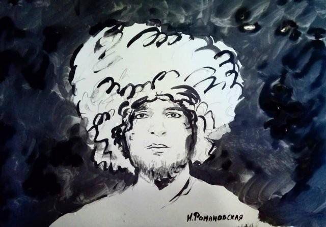 Художница из Питера, которая пишет картины пышным бюстом (11 фото)
