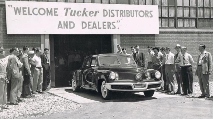 Запоздалое признание автомобилей Tucker (21 фото)
