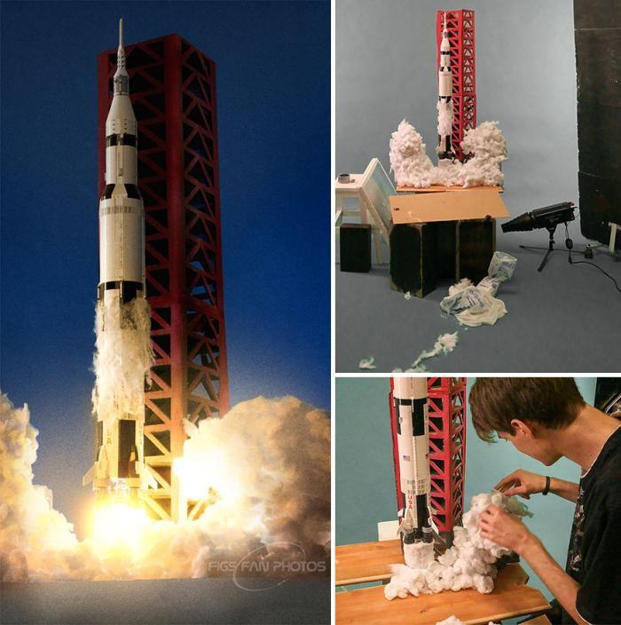 Парень воссоздает космические события с помощью Lego (16 фото)