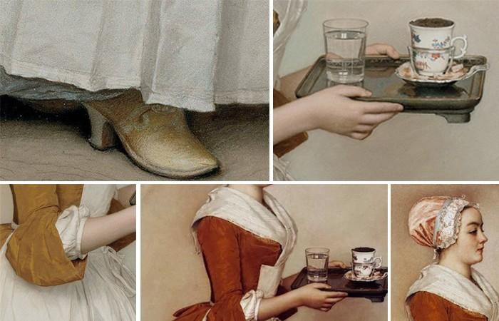 Удивительная история картины Лиотара «Шоколадница» (5 фото)