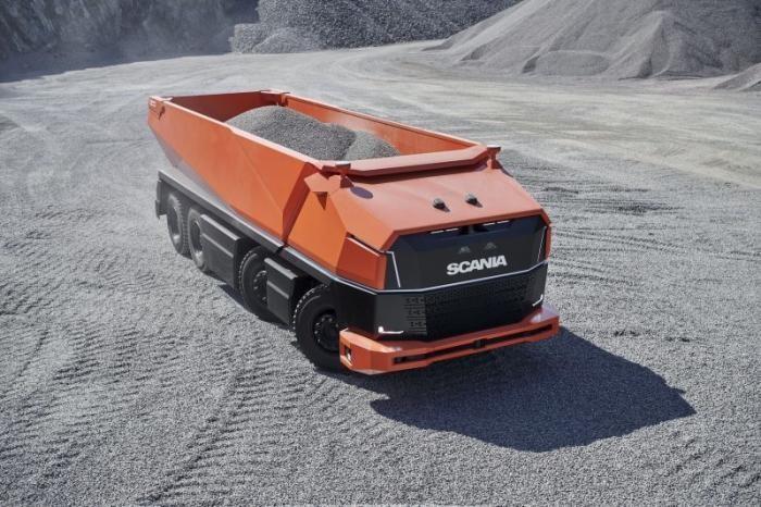 Scania AXL: концептуальный грузовик, у которого даже нет кабины (19 фото)