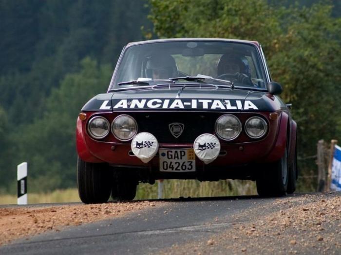 Lancia Fulvia: долгая дорога к бессмертию (20 фото)