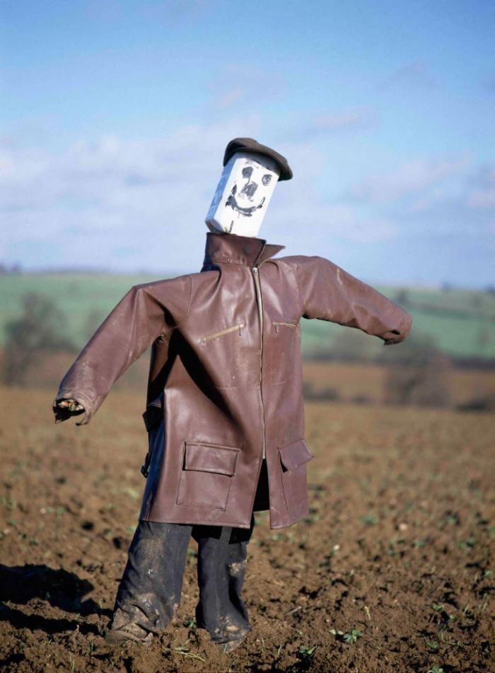 Пугала из сельской местности Англии (16 фото)