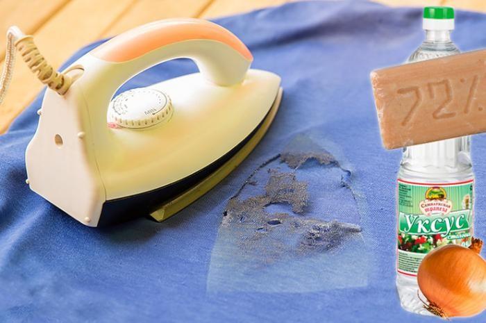 Лучшие способы убрать следы от утюга с одежды (2 фото)