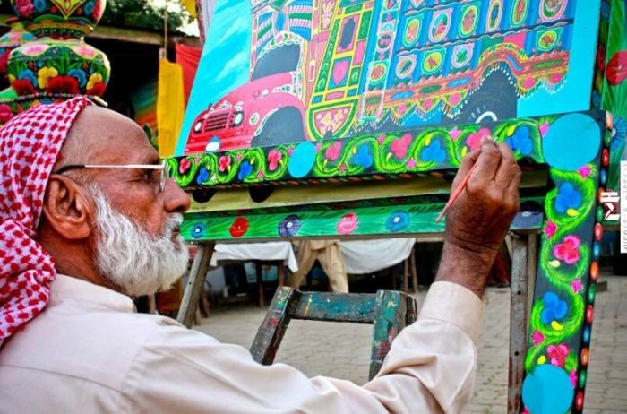 Интересный дизайн автомобилей в Пакистане (22 фото)