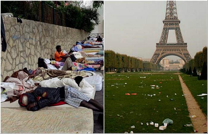Чем разочаровывает Париж (10 фото)