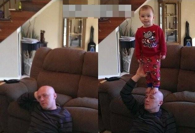 Как изменилась жизнь родителей с появлением детей (17 фото)