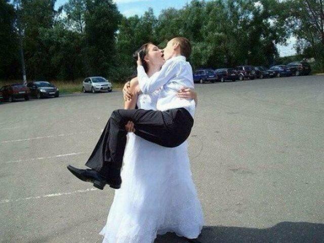 Фото с российских свадеб (17 фото)