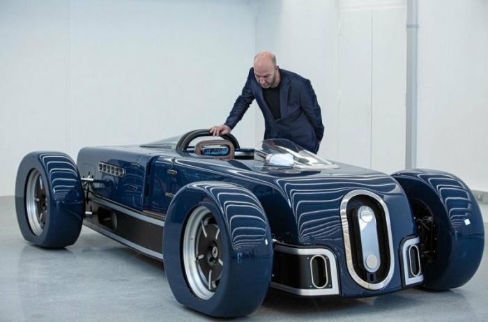 Бельгийцы построили крутой родстер в стиле машин 30-х годов (34 фото)