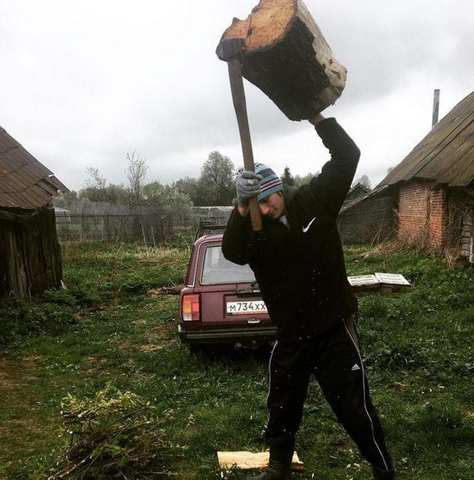 Колоритные фото из деревень (18 фото)