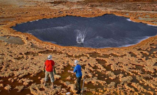 Самое безжизненное место планеты (3 фото)