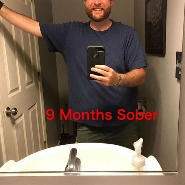 Как за три года изменился человек, отказавшийся от алкоголя (10 фото)