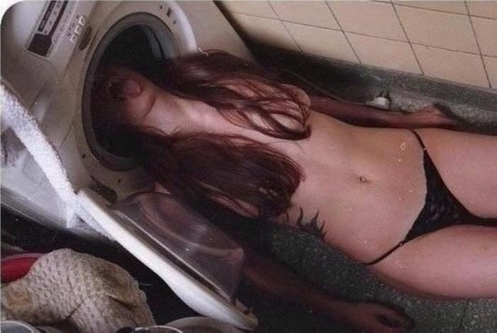 Очень странные девушки на просторах Интернета (18 фото)
