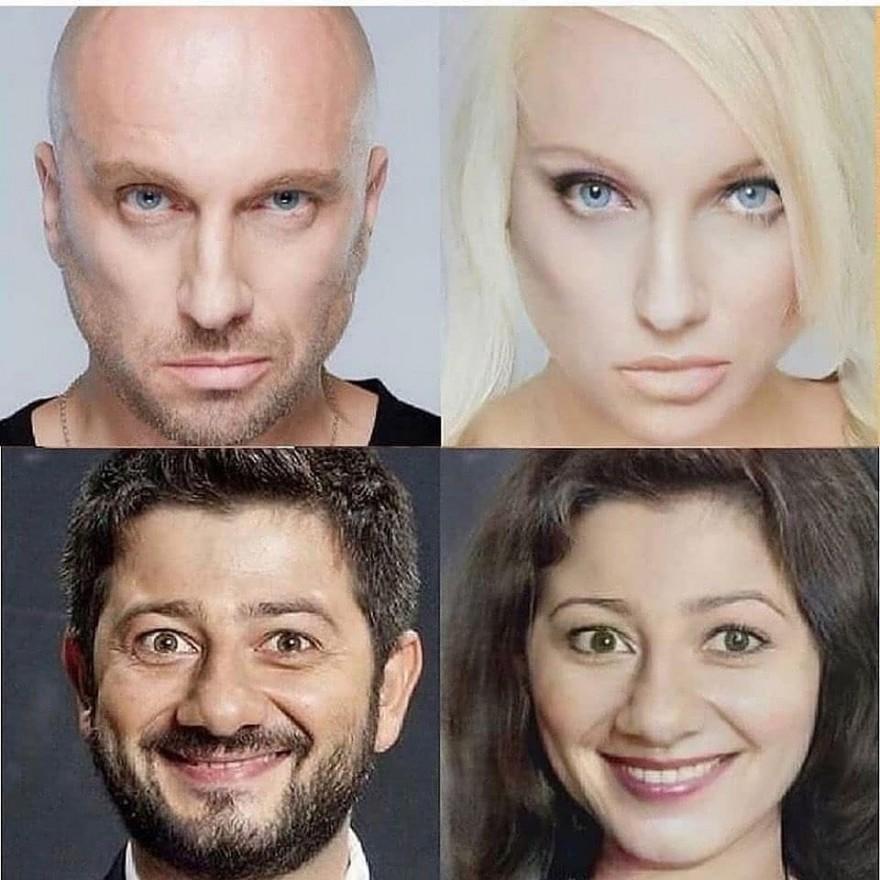 Какими женщинами были бы актеры-мужчины (6 фото)