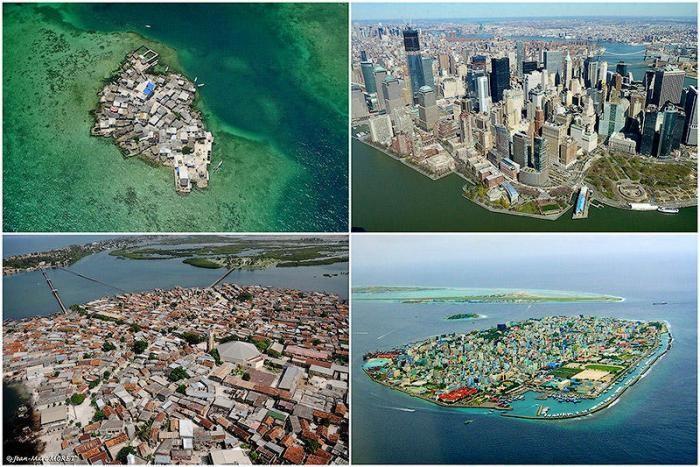 Острова с самой высокой плотностью населения в мире (10 фото)
