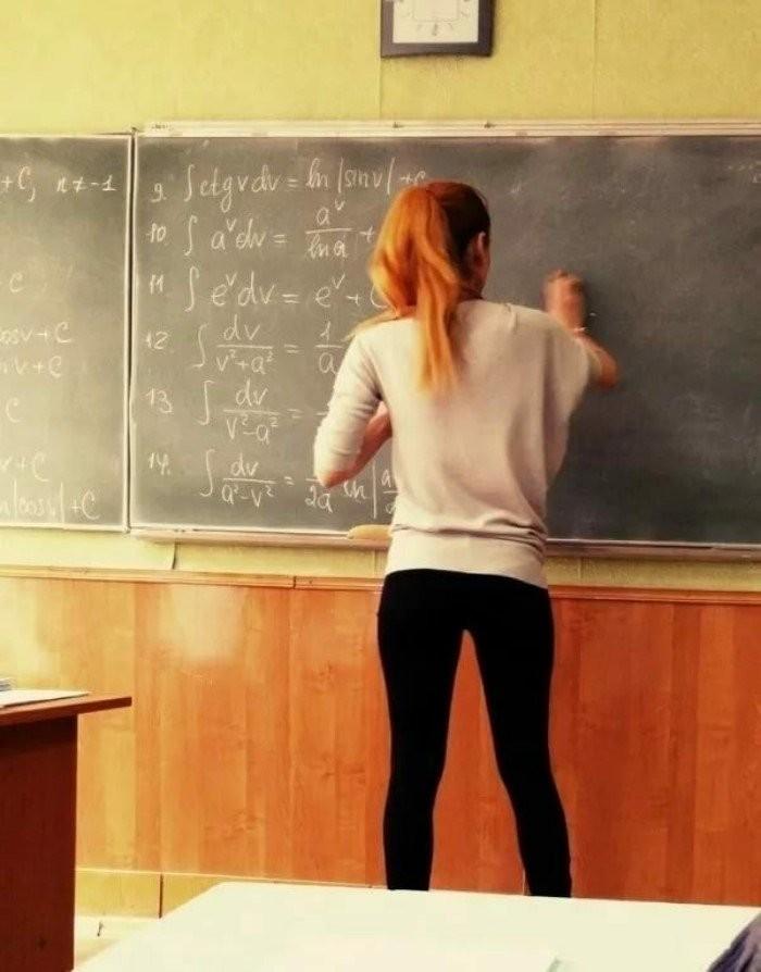 Молодые учителя и практикантки (20 фото)