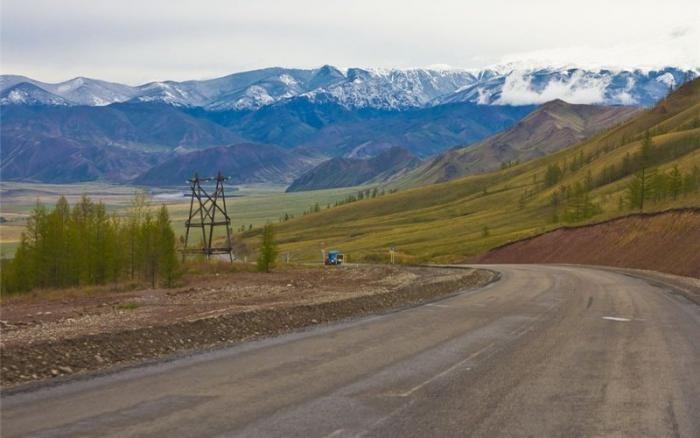 Самые красивые дороги России (10 фото)