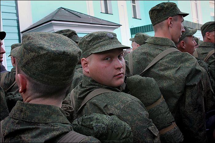 Деревенские проводы в армию (23 фото)