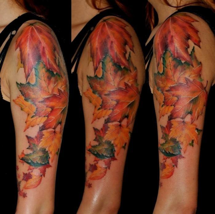 Работы лучших российских мастеров татуировки (57 фото)