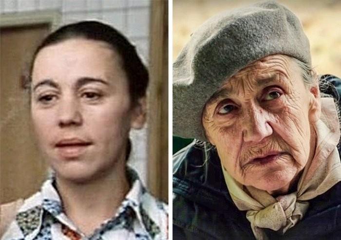 Этих актрис все помнят уже в возрасте, но когда-то и они были молодыми (8 фото)