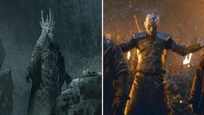 Оказывается, Король Ночи должен был выглядеть иначе (2 фото)