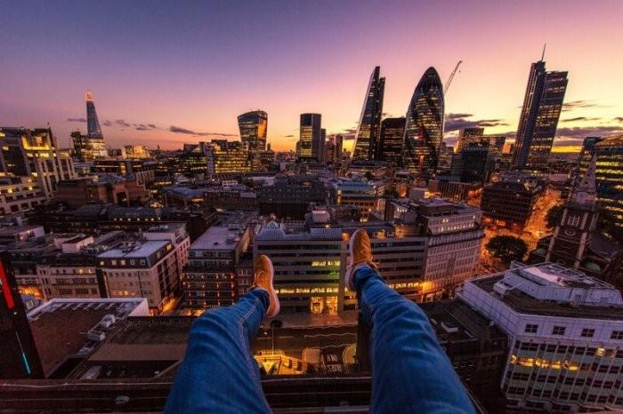 Руфер показал виды на Лондон с разных крыш (15 фото)