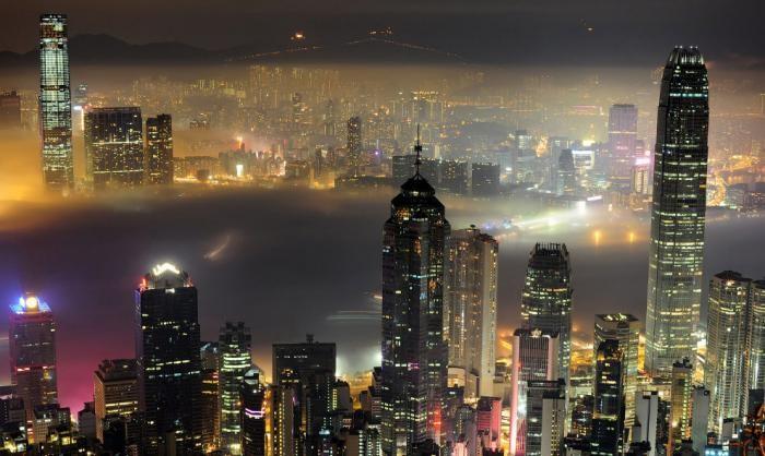Городские пейзажи Гонконга (25 фото)
