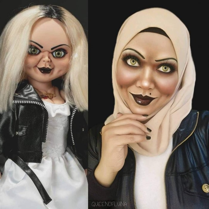Косплей, которому не мешает даже хиджаб (24 фото)