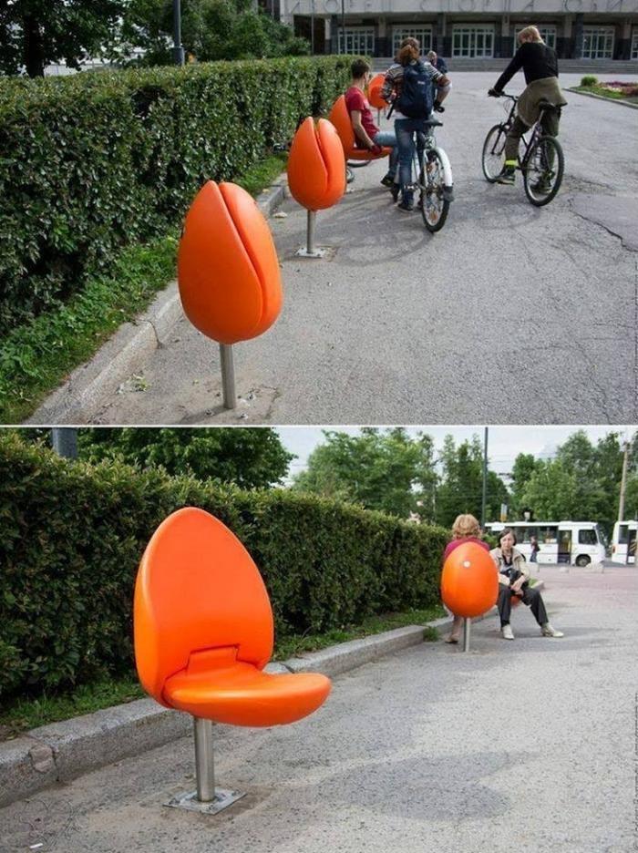 Дизайнерские решения, которые должны быть в каждом городе (17 фото)