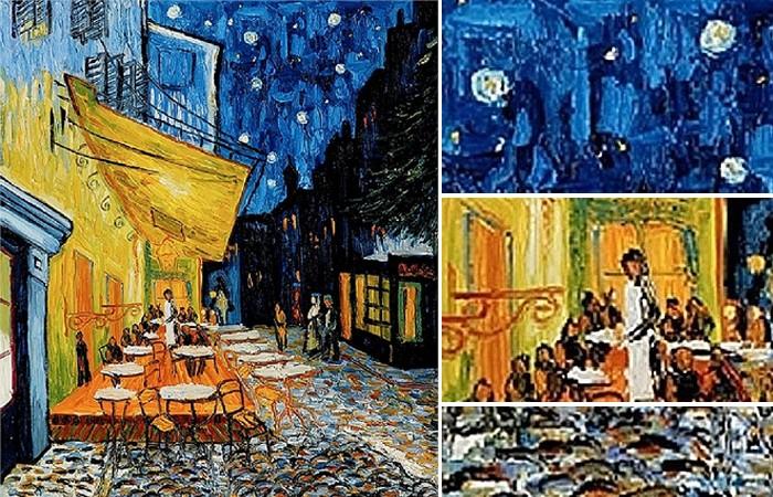 Связь картины «Кафе» Ван Гога с сюжетом Тайной Вечери (5 фото)
