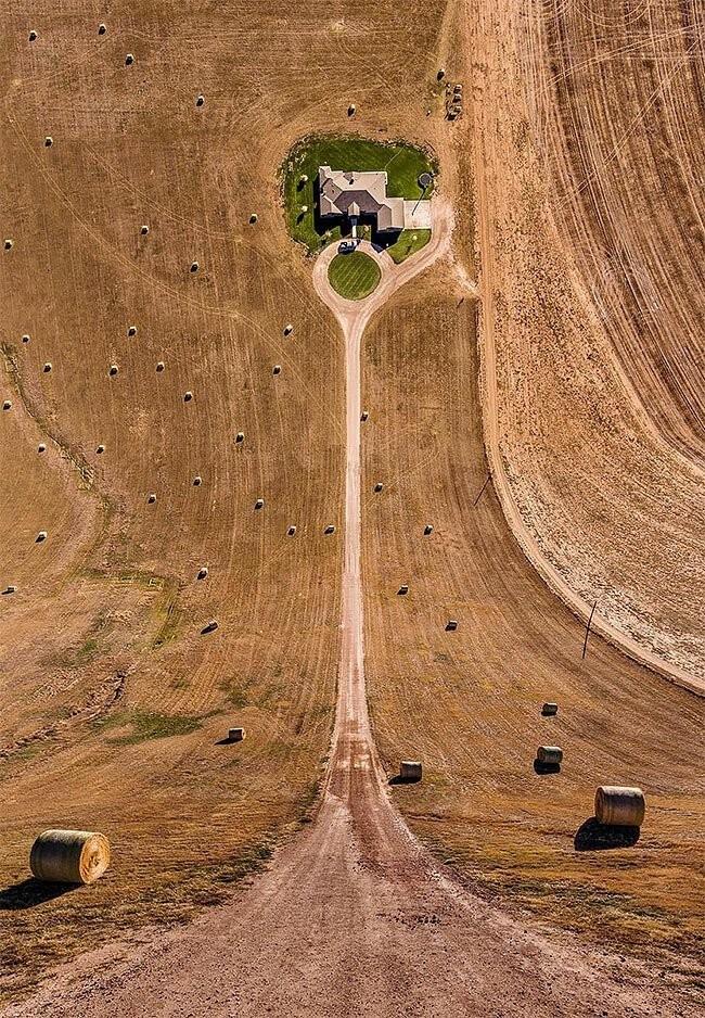 """Удивительное зрелище: турецкий фотограф """"сгибает"""" города (15 фото)"""